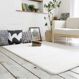 Ковёр белого цвета запоминающий форму JumKids Memory Foam Ivory