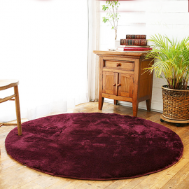 Фиолетовый круглый ковер JumKids Sweet Violet